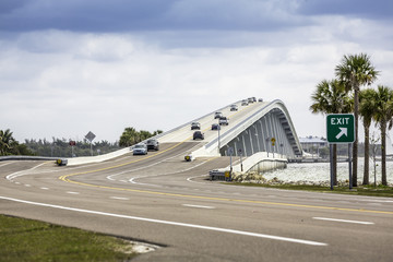 Sanibel Causeway And Bridge in Florida