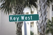 Key West street sign