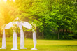 wedding at lawn