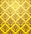 Gold Yellow Pattern
