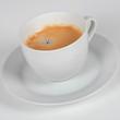 tasse mit kaffee