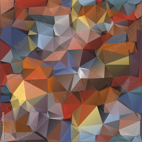 Papiers peints ZigZag Geometric pattern, triangles background.
