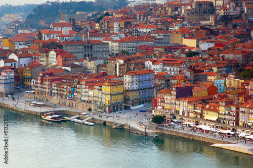 old town of Porto close up, Portugal