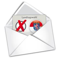 Landtagswahl Hessen, Briefwahl, Demokratie