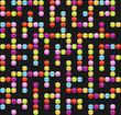 Infinite maze seamless background pattern. Vector illustration.