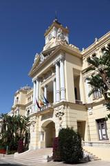 City Hall of Malaga, Andalusia Spain