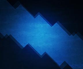 Blue Simple Sharp Background