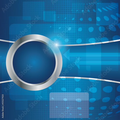 Vector abstract business background - brochure design