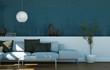modernes Sofa in Stadtwohnung
