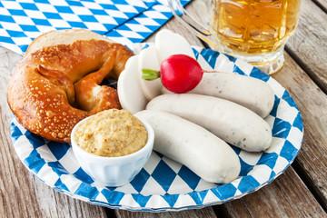 Weißwurst und Bier
