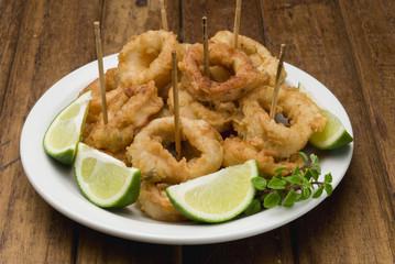 calamar frito