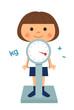 身体測定-体重