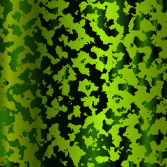 Vector green pattern