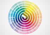 Fototapety Pantonier multicolore
