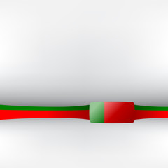 Banner in portugiesischen Farben