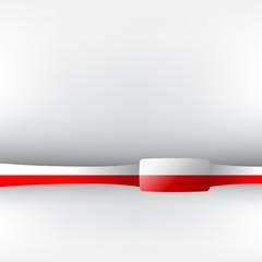 Banner in polnischen Farben