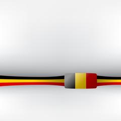 Banner in belgischen Farben