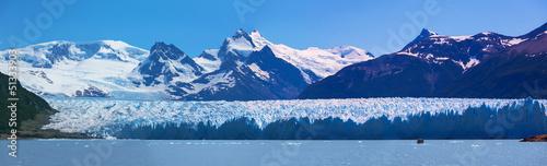 Leinwandbild Motiv Glacier Perito Moreno, National Park Los Glasyares, Argentina