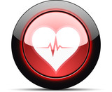 Heart Beat monitor button