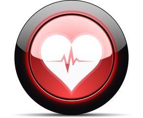 Heart Beat monitor button