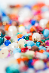 Colorful beads - Bunte Perlen