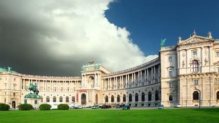 Vienna - Hofbur, time lapse