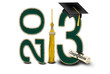 green and gold 2013 graduation