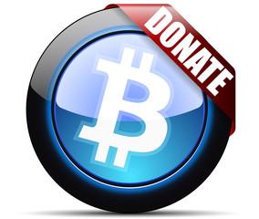 Bitcoin Donate button