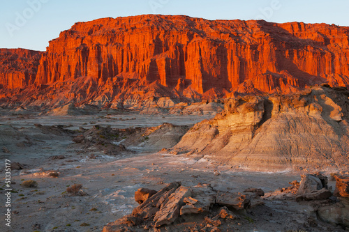 Moon Valley, national park Ischigualasto, San Juan, Argentina