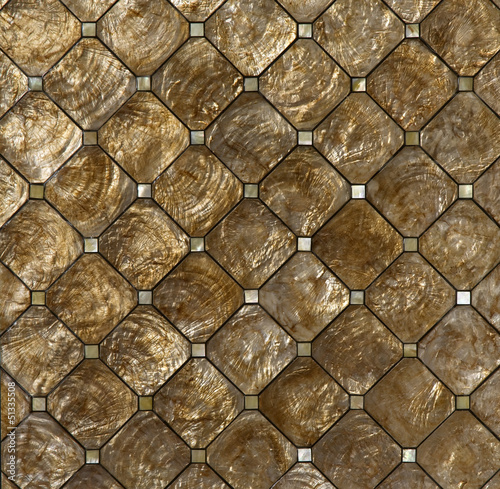 wall made of shells