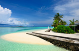 Beautiful beach at Maldives