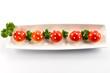 Funghetti di mozzarella e pomodorini -