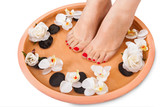 Female Feet Getting Aroma Therapy - 51337138