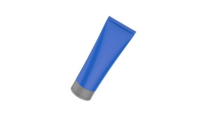 Plastic tube used in cosmetics or healthcare products