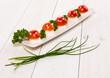 Funghetti di mozzarella e pomodorini