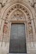 The Door of the Nativity, in Seville Cathedral, (Spain).