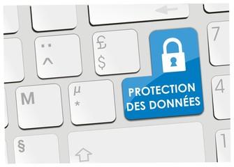 clavier protection des données