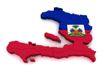 3D Map of Haiti