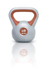 Kettlebell / Kugelhantel 18 kg mit Spiegelung