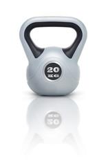 Kettlebell / Kugelhantel 20 kg mit Spiegelung