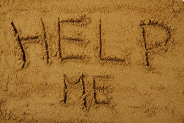 help me in the sand