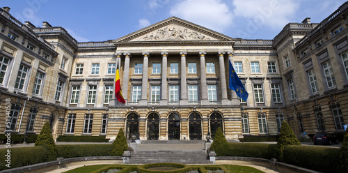Fototapeta Belgian Parliament Building in Brussels
