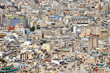 High urban density in Athens