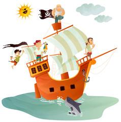 bateau pirate © Ayamap