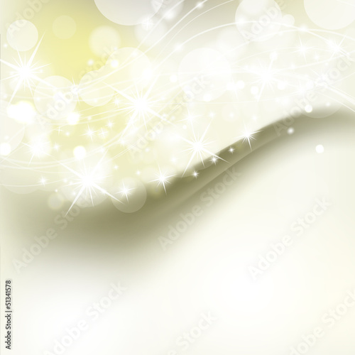beautiful abstract background with holiday shiny lights
