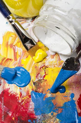 colori acrilici primari