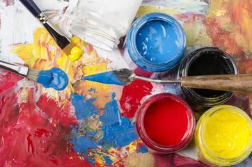 colori primari acrilici