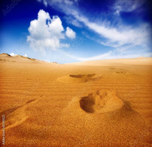 Fototapeten,nachspeise,fussspuren,sunlight,sand