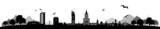 Fototapety Skyline Warszawa