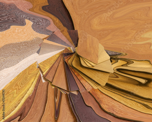 abstract wood background with wood samples